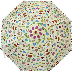 "Зонт Mary Poppins ""Сердечки"", 48 см"