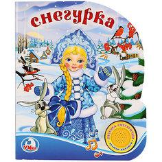 """Музыкальная книга """"1 кнопка 1 песенка"""" Снегурка Umka"""