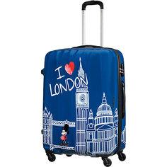 Чемодан American Tourister Микки Лондон, высота 75 см
