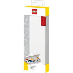 Пенал, цвет: красный, LEGO
