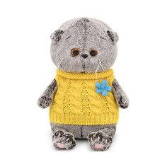 Мягкая игрушка Budi Basa Кот Басик Baby в жилетке, 20 см