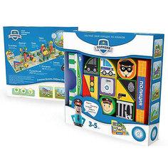 """Пластиковые кубики Magneticus """"Полиция"""", 12 кубиков"""