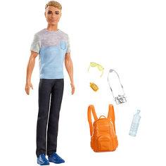 "Кукла Кен Barbie ""Путешествия"" Турист Mattel"