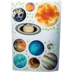 """Светящиеся наклейки Люмастик """"Солнечная система"""""""