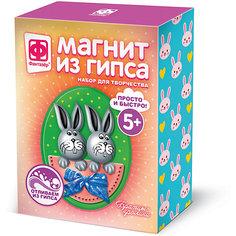 """Набор для создания магнитов из гипса Фантазёр """"Братцы-кролики"""" Фантазер"""