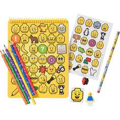 Канцелярский набор для рисования LEGO iconic (смайлик)
