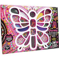 Набор для творчества Danko Toys Набор для создания украшений из бисера Бабочка