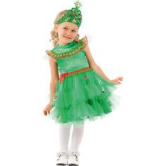 Карнавальный костюм Батик, Елочка зеленая Пуговка