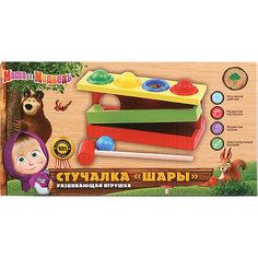 Развивающая игрушка Буратино Стучалка «Шары»