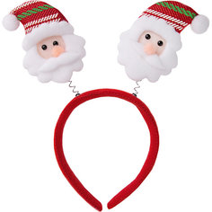 "Ободок Fenix-present ""Дед Мороз в полосатом колпаке"" Феникс Презент"