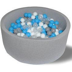 """Сухой бассейн Hotenok """"Небеса"""" 40 см, 200 шариков"""