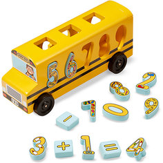 Сортер Melissa & Doug, Автобус-цифры