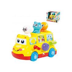 Развивающая игрушка Полесье Школьный автобус