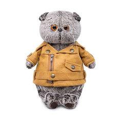 Мягкая игрушка Budi Basa Кот Басик в куртке-косухе, 22 см