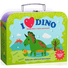 """Чемоданчик с развлечениями Бумбарам """"Я люблю динозавров"""""""