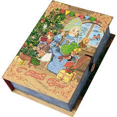 Подарочная коробка Снегурка за работой-M Magic Time