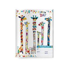 Тетрадь Альт Счастливый день, 24 листа, клетка, 10 шт