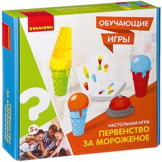 """Настольная игра Bondibon Обучающие игры """"Первенство за мороженое"""""""