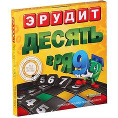 """Настольная игра Биплант Эрудит """"Десять в ряд"""" БИПЛАНТ."""