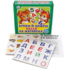 Касса на магнитах Умка «Буквы и цифры» Umka