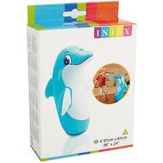 Неваляшка Intex 3D Дельфин