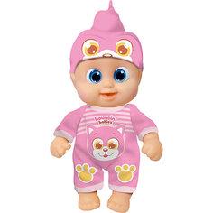 """Интерактивная кукла Bouncin Babies """"Кукла Бони"""", пьющая и писающая, 16 см"""