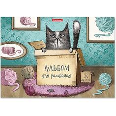 Альбом для рисования Erich Krause Cat & Box, А4, 30 листов