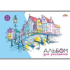 """Альбом для рисования Апплика """"Старый мост"""", 32 листа"""