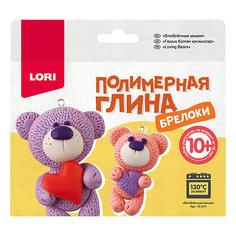 Полимерная глина LORI Брелоки «Влюбленные мишки» Лори