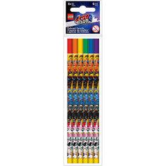 Набор цветных карандашей LEGO Movie 2, 6 шт