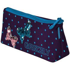"""Пенал Grizzly PS-97-6 №1 """"Бабочки"""""""