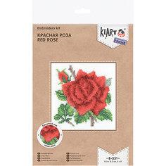 """Набор для вышивания Klart """"Красная роза"""""""