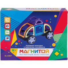 """Магнитный конструктор """"Магнитой"""", Машинка, 14 деталей"""