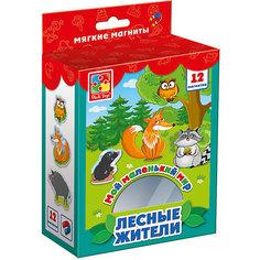 """Мягкие магниты Vladi Toys """"Мой маленький мир"""" Лесные жители"""
