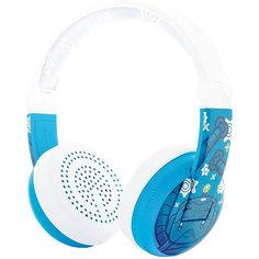 Наушники Buddyphones Wave Blue, голубые