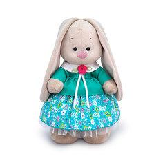 Мягкая игрушка Budi Basa Зайка Ми в бирюзовой курточке, 25 см