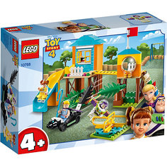 Конструктор LEGO Toy Story 4 10768: Приключения Базза и Бо Пип на детской площадке