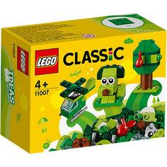 Конструктор LEGO Classic 11007: Зелёный набор для конструирования