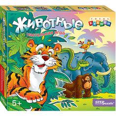 """Развивающая игра """"Животные"""" (Умные кубики) Степ Пазл"""