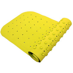 Антискользящий коврик для ванны 34,5х76 см, салатовый Roxy Kids