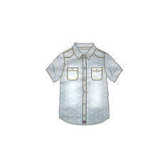 Джинсовая рубашка Tuc Tuc
