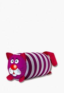 Подушка декоративная Штучки, к которым тянутся ручки Кот Полосатый
