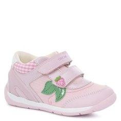Кеды GEOX B020AA розовый
