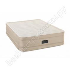 Надувная кровать bestway fortech airbed 203x152x46 см, встроенный электронасос 69050 bw