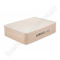 Надувная кровать bestway alwayzaire fortech 203x152x51 см 69054 bw