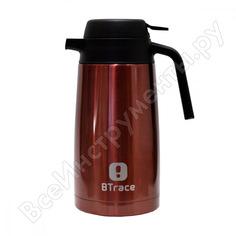 Термос-кофейник btrace вишневый, 1600 мл 705-1600