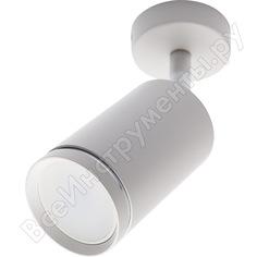 Настенно-потолочный светильник feron ml201 под лампу gu10, белый 41061