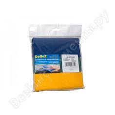 Салфетки из микрофибры dollex 30х30 см 3 шт. spn-002