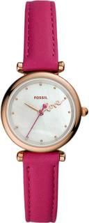 Женские часы в коллекции Carlie Mini Женские часы Fossil ES4827