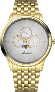Швейцарские мужские часы в коллекции Moonphase for him Мужские часы Adriatica A8269.1157QF Adri...Atica